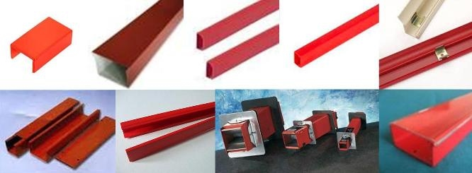 Specialised Red Cable Trunking And G I Conduit Pipes Leong Hing Electrical Engineering Sdn Bhd